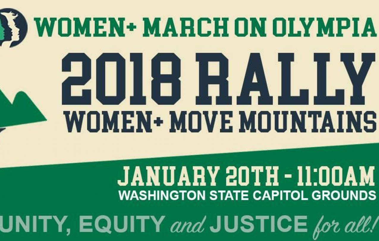 Women Move Mountains Rally Jan 20