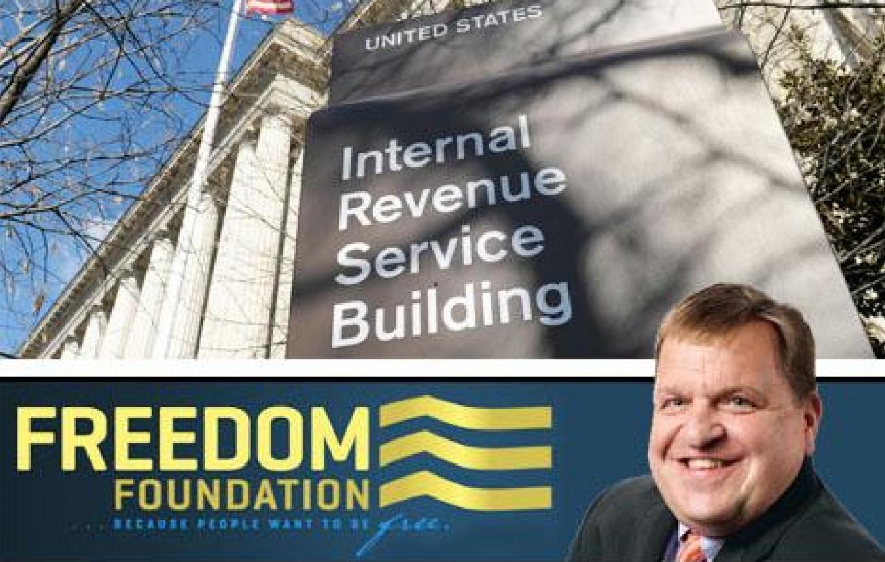 Freedom Foundation taxes