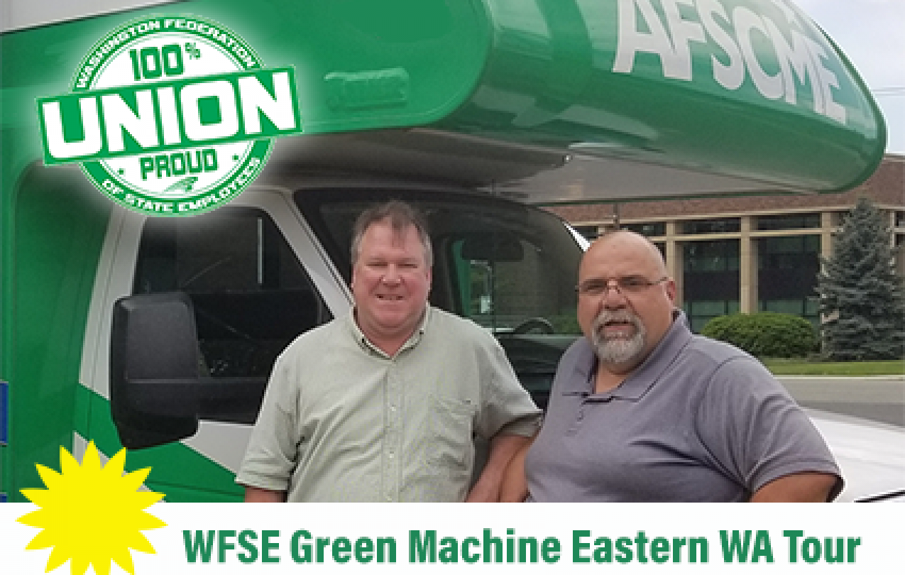 Green Machine Tour EWA