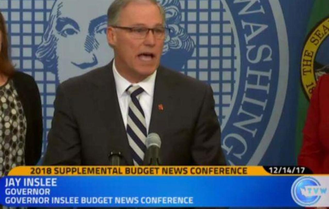 Gov Inslee Supplemental budget
