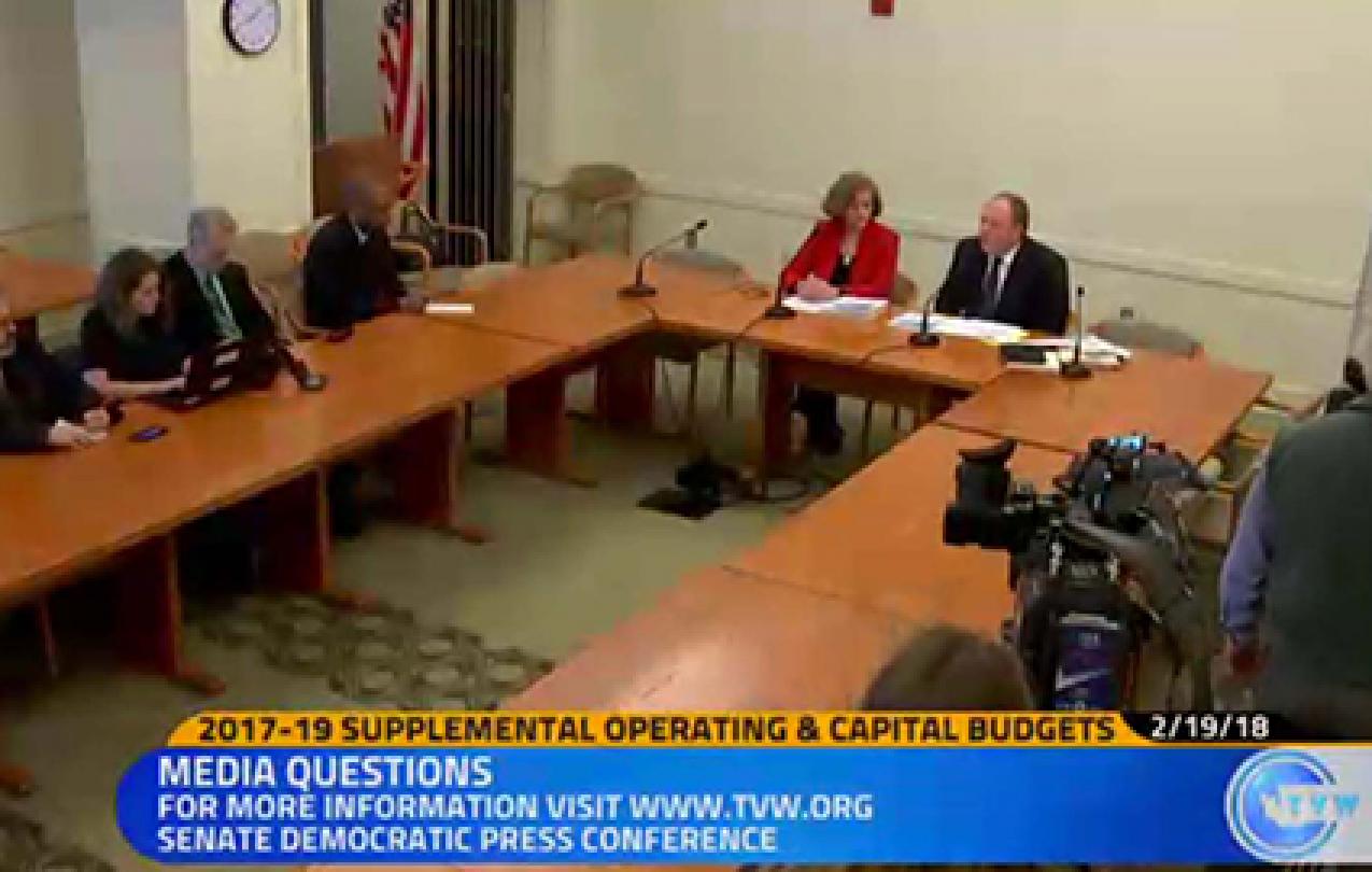 Senate Supplemental Budget plan