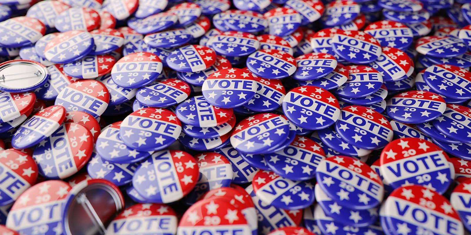 Voting buttons
