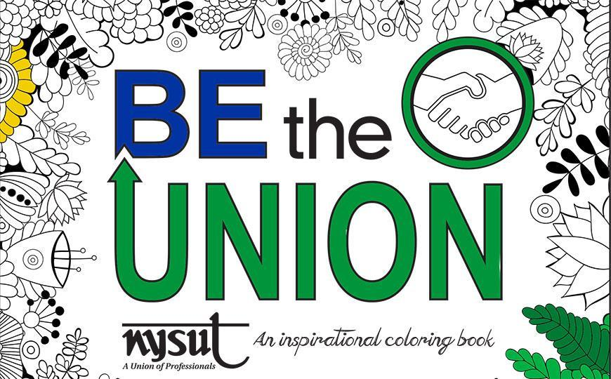 Be the Union coloring book