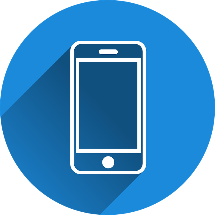 A cell phone graphic
