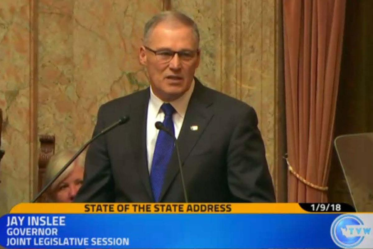 Gov. Inslee on Capital Budget 1/9/18