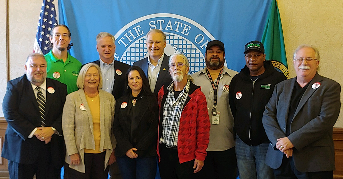 WSH Safety with Governor Inslee