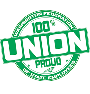 100 percent union proud #StrongerTogether