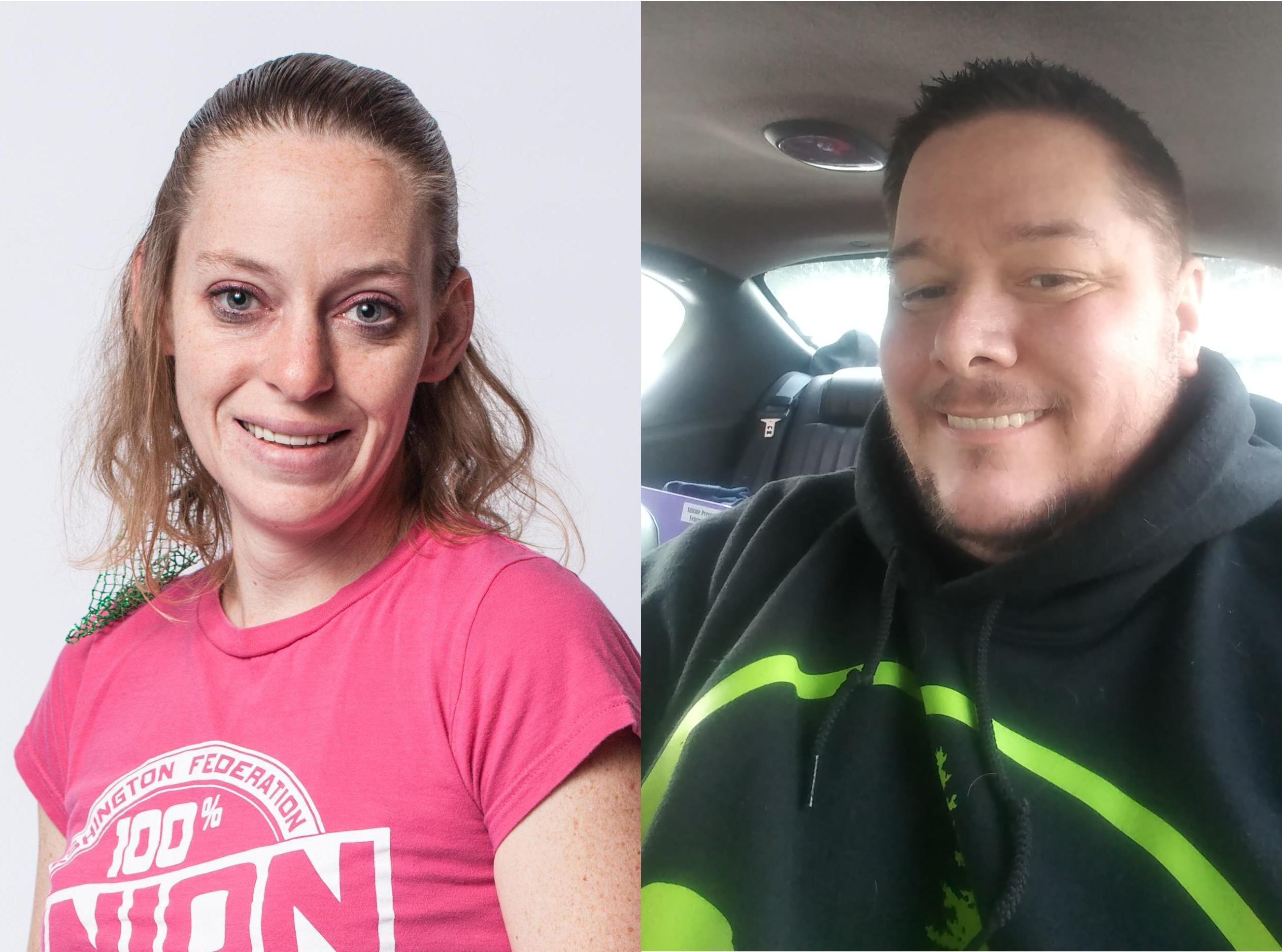 2020 WFSE Steward Award Winners Ashley Fueston and Jason Molzahn