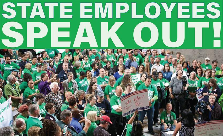 State employees speak out
