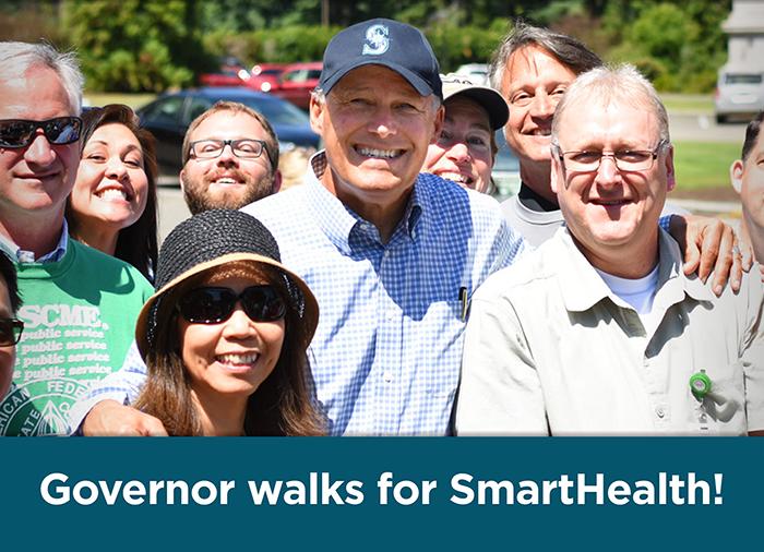 Governor Walks for Smart Health